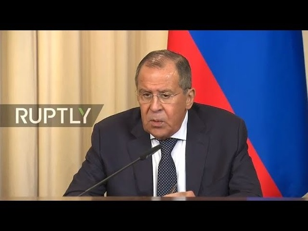 Live Lavrov holds joint press conference with Jordanian FM