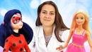 Детское видео про куклы. Приключения Барби и Леди Баг!