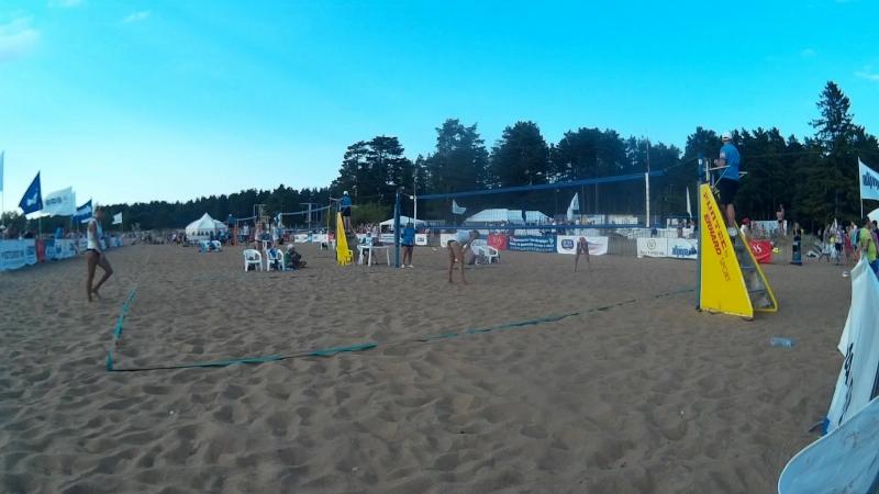 Beach volley Russia Solnechnoe 2018 W 10 Tsyganova-Terentyeva and Barsuk-Nyakina