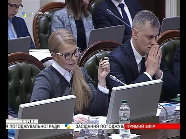 11.03.2019 Засідання Погоджувальної ради Верховної Ради України
