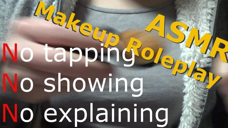 【ASMR/Binaural】Makeup Roleplay 6(No talking,Realistic speedy makeup)