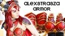 Alexstrasza - Warcraft Cosplay Armor Colorazione