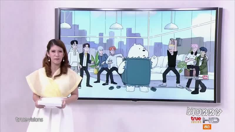 [VK][23.05.2019] Reportage of the MONSTA X appearance on We Bare Bears @ Seoul inside
