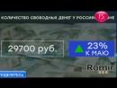 «Ромир» сообщил о резком росте объема «свободных денег» россиян