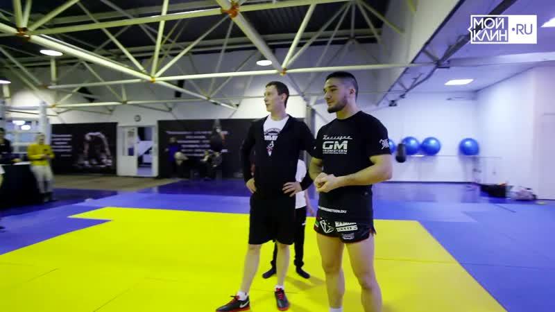 Мастер класс Тимура Надрова Чемпиона Мира по кикбоксингу в КСЕ Альянс