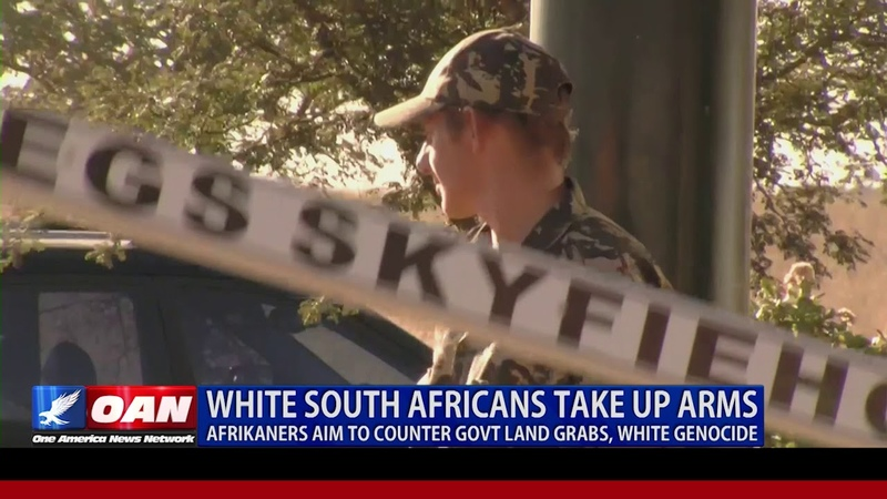 White South Africans Take Up Arms -- Afrikaners Aim to Counter Govt Land Grabs, White Genocide