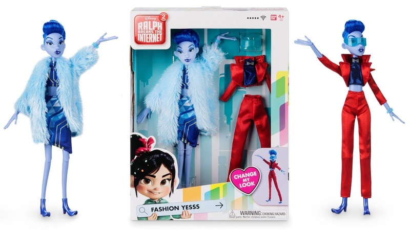 Yesss Fashion Doll from Ralph Breaks the Internet REVIEW (Bandai)