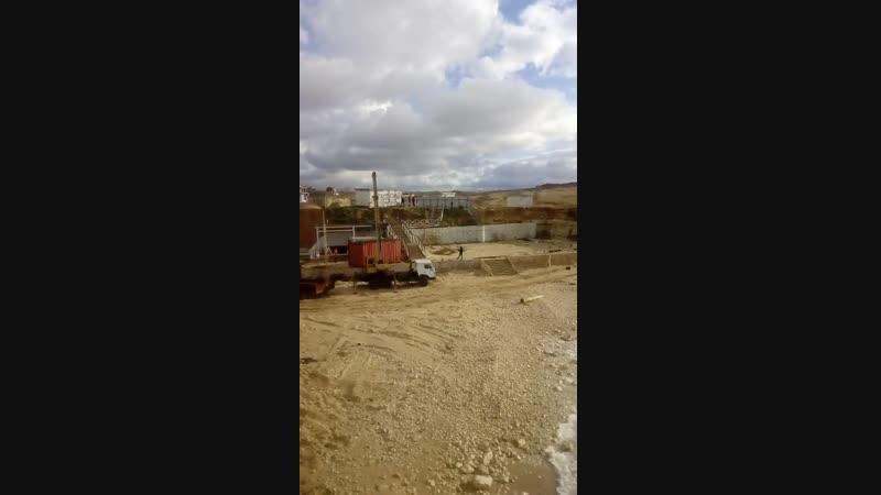 Строители КОС «Южные» покидают стройплощадку
