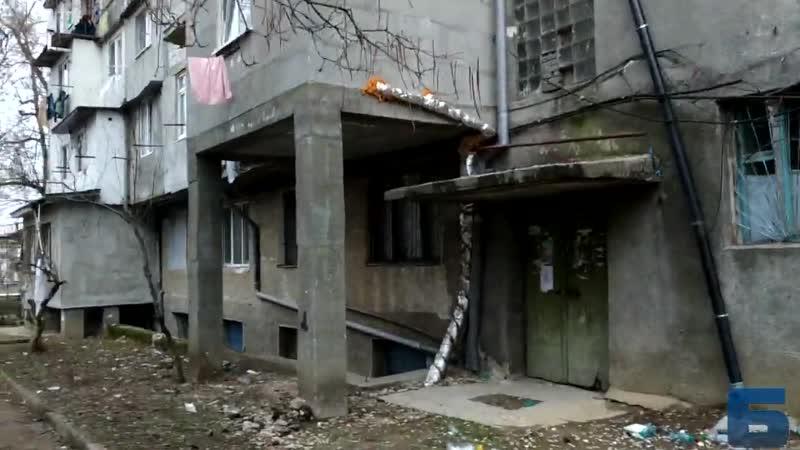 Кишинев, Сармиседжетуса 43-2 - дом разваливается
