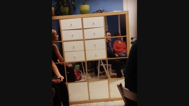 Отрывок встречи «Вечер открытых дверей» по Телесной Терапии