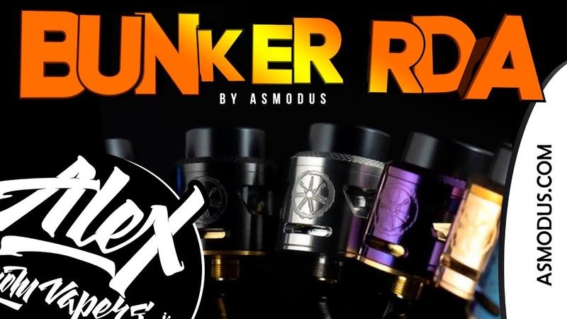 Эмммм... ЗАЧЕМ? l Bunker RDA l by Asmodus l Alex VapersMD review 🚭🔞