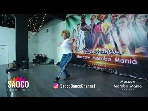 Delia Madera Dance Classes at 2nd Moscow MamboMania weekend 2019, Saturday 09.03.2019