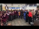 [WATCH] Prime Minister TheresaMay at ID Mkhize Senior Secondary in Gugulethu, Cape Town. @