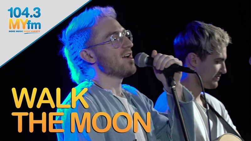 Walk The Moon Performs 'Shut Up And Dance' 'One Foot'