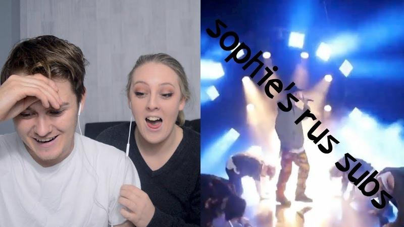 BTS MIC Drop @ LIVE BTS Comeback Show BTS REACTION BF GF REACT   rus sub   русские субтитры