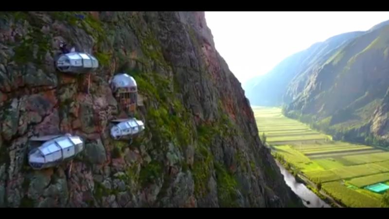 Уникальный отель – воплощенная в жизнь мечта пары альпинистов перуанца Арио Ферри и колумбийки Наталии Родригес ✈🌴☀