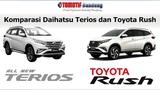 Komparasi Daihatsu Terios vs Toyota Rush