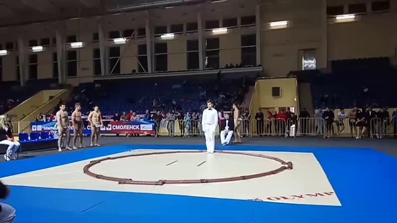 Командное первенство России по сумо среди юниоров до 22 лет