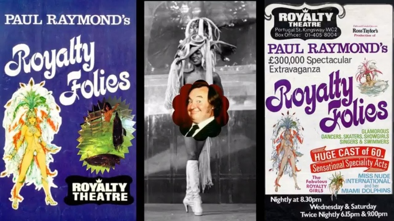 Girlie Shows of the 70s-Chubby Oates and John Inman discuss Paul Raymond's Royalty Follies HD