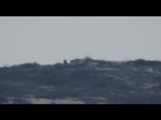 Уничтожение снайпера террористов ПТУРом