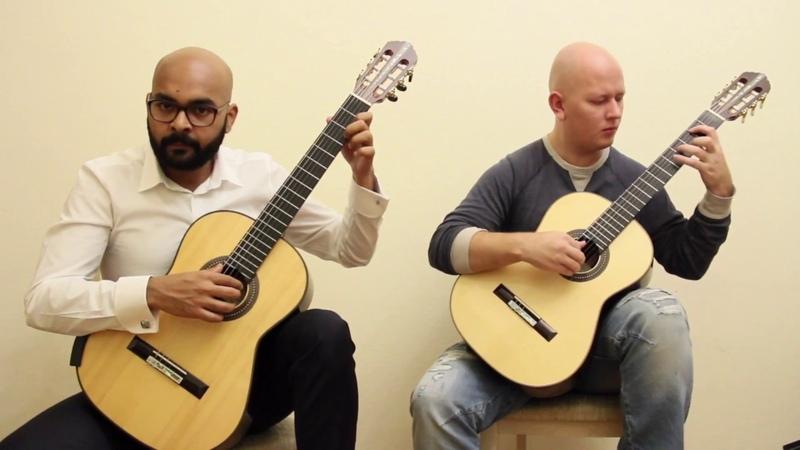 Astor Piazzolla - Tango Verano Porteño (guitar guo) | Астор Пьяццолла - Танго «Лето»