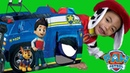 Paw Patrol Cruiser Play Tent Unboxing Paw Patrol Chase Cruiser Play Tent