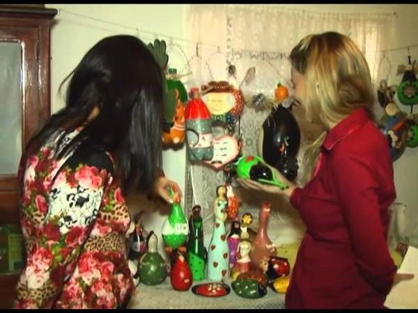 Cabaça tem servido de inspiração para os artesãos criarem suas peças