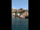 плывём на катере с Балаклавы на Фиолент пляж Яшмовый часть 2