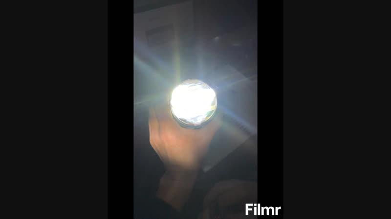 Bi-LED линза