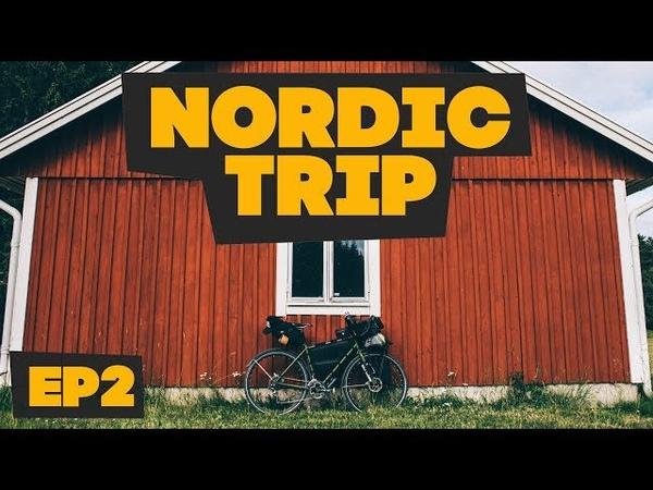 На велосипедах по Швеции как найти кемпинг Велопутешествие по Скандинавии Nordic Trip ep2