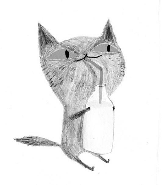 Лучше всего на свете серому коту Мите.Потому что у него есть настоящая вера. Больше всего на свете Митя верит в мышку. Много раз оказывалось так,что мышка–это рука под одеялом. Или в пакет