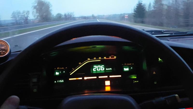 Mazda 626 GD USDM F2T morning ride