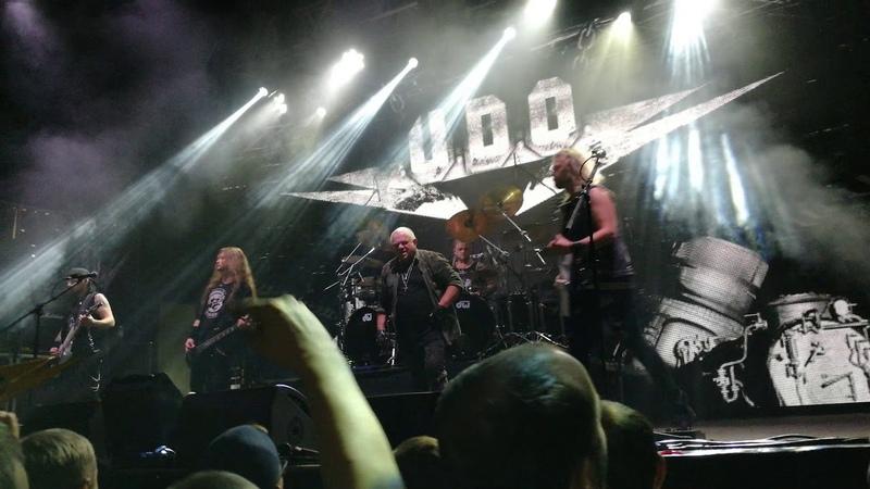 U.D.O - Metal machine. Milo concert hall. 18.11.2018