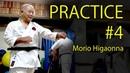 Morio Higaonna's Karate practice 4 PUNCH BLOCK 東恩納盛夫先生の鍛錬その4