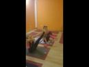 Тренировка по аштанга-йоге