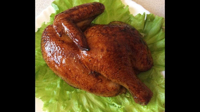 Курица в медово-соевом маринаде, запеченная в духовке \\ Курочка получается очень сочная и вкусная