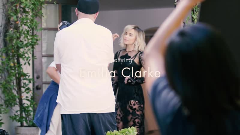Эмилия Кларк в фотосессии для журнала Elle