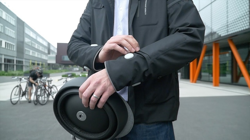 Bright Idea! Smart Jacket for Cyclists