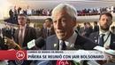 Presidente Piñera confirma visita de Jair Bolsonaro a Chile