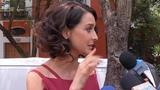 Интервью для программы LA CUCHARA во время съемок заставки Mi Marido Tiene mas Familia