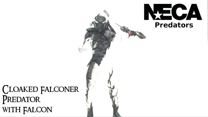 Video Review of the NECA Predators Series 7; Cloaked Falconer