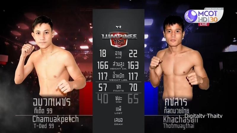 ศึกมวยไทยลุมพินี TKO ล่าสุด 3 พฤศจิกายน 2561 Muaythai HD 🏆