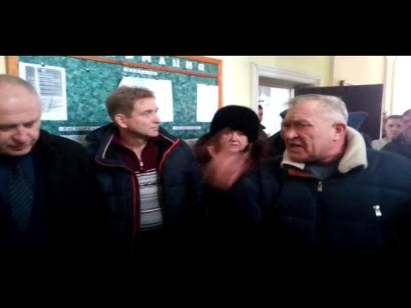 Расправа от мэра Лисичанска Шилина над главным инженером водоканала Францовым