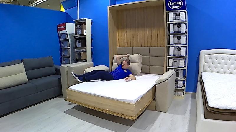 Шкаф кровать с диваном Ярославль