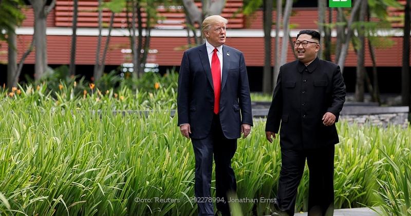 Белый дом: встреча Трампа и Ким Чен Ына пройдет в конце февраля