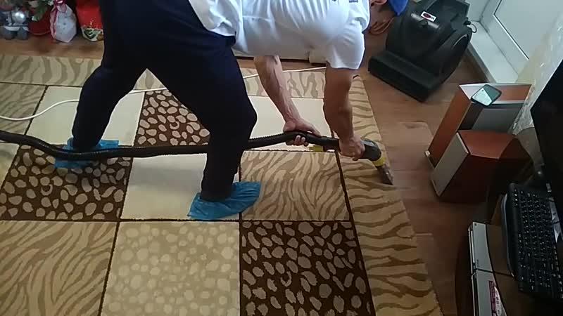 VELCOM (Химчистка мебели и ковров) - чистка ковра 2