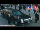 Кадиллак президента США Крепость на колесах АМЕРИКА Cadillac
