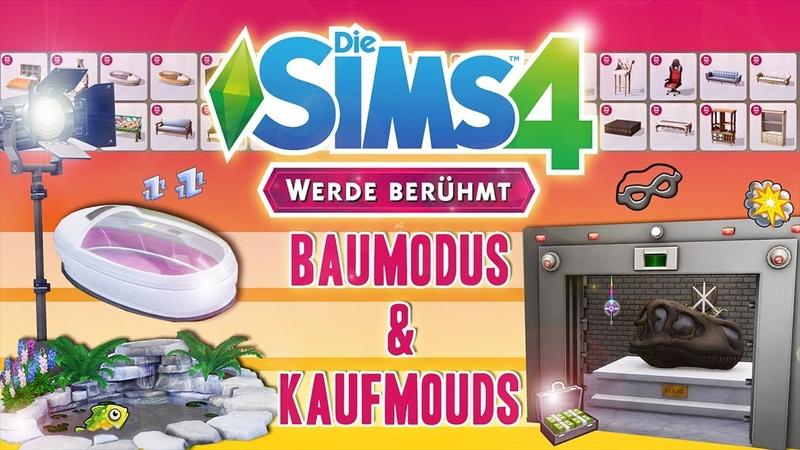 🎬 Die Sims 4 - Werde berühmt 🎬    Bau- und Kaufmouds Debug   