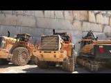 Транспортировка мраморных блоков