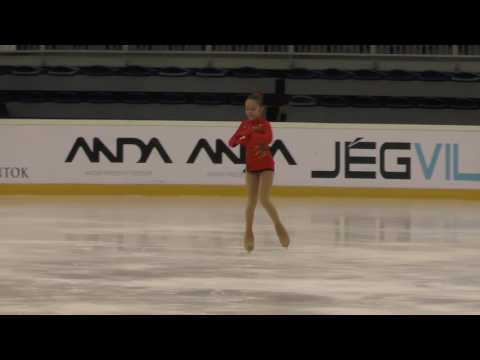 2016 Santa Claus Cup: Bruna BARIC (CRO) - FS Cubs GIRLS 2007, Free skating